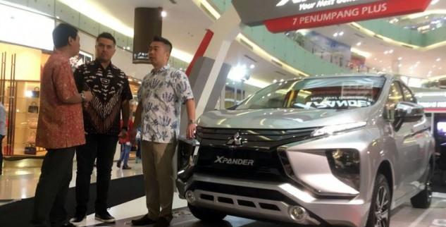 Xpander hadir Dipameran Mobil Surabaya
