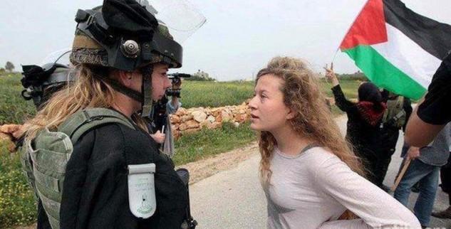 Banyak Gadis Palestina Yang Di Tangkap Tentara Israel