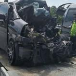 Kecelakaan Di Tol Cipali Akibatkan 1 Orang Tewas 8 Lainnya Luka