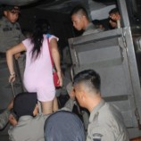 satpol PP Padang razia Tempat Hiburan Malam, 10 Wanita Diamankan