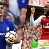 Prediksi Terpercaya Arsenal vs Chelsea 4 Januari 2018