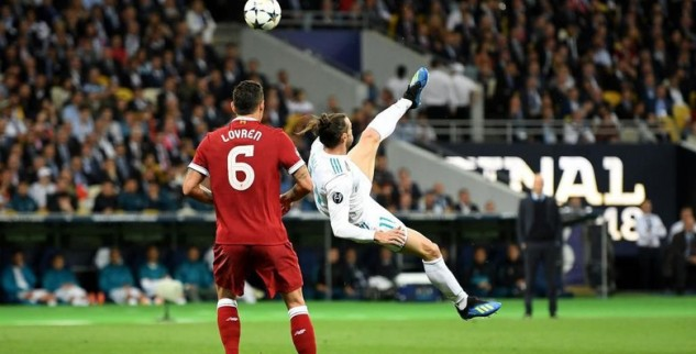 Gol Salto Gareth Bale Di Final Liga Champions Tidak Masuk Calon Gol Terunggul