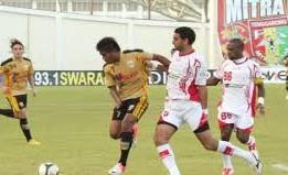 Mitra Kukar Kalahkan Persipura Jayapura Dengan Score 2-1
