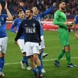 Liga A UEFA Nations League Italia Tumbangkan Polandia