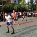 Sandiaga Bermain Basket Dengan Seba(Komune Setu Esuk Basketball )