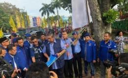 Bendera dan Baliho SBY Dirusak dan Dibuang ke Parit di Pekanbaru