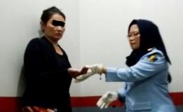 Petugas Temukan 21 Bungkus Sabu dalam Mulut Pengunjung Wanita Lapas Banceuy