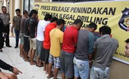 10 Orang Pengangkut 20 Ton Minyak Ilegal di Jambi Ditangkap, Polisi Sita 10 Pick Up