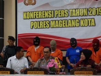 4 Pelaku Penipuan dengan Modus Gendam Berhasil Dibekuk Polisi di Magelang