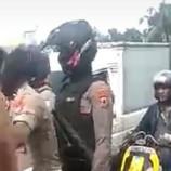 Kawal Unjuk Rasa di Makassar, Ipda Darwis Dipukul oleh Demonstran