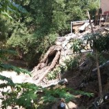 2 Rumah di Grobogan Tergerus Longsor Karena Bantaran Sungai Sogo Ambrol